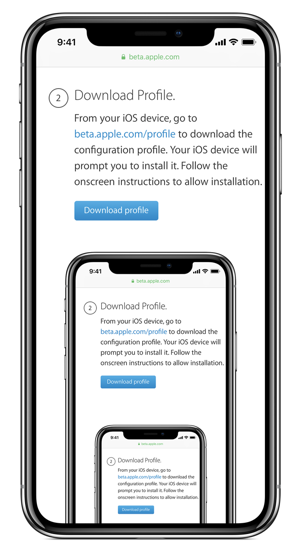 Download iOS 12 Public Beta