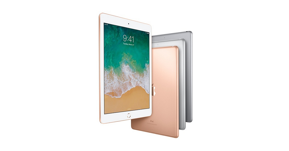 Apple's Latest iPad 6 With 128GB Storage Is Discounted by $100
