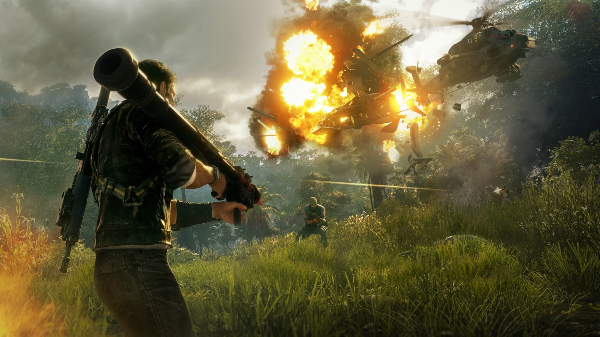 Just Cause 4 Wallpaper: First Batch Of Just Cause 4 Screenshots Leaked Online