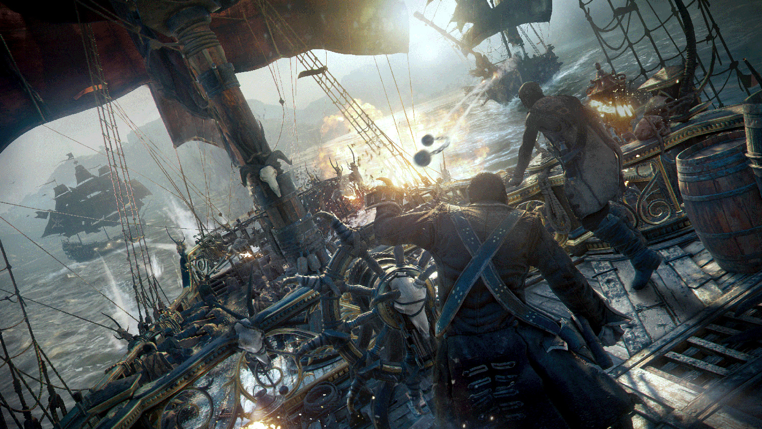 Skull and Bones Receives new Cinematic and Gameplay ...