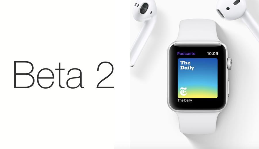 watchOS 5 Beta 2