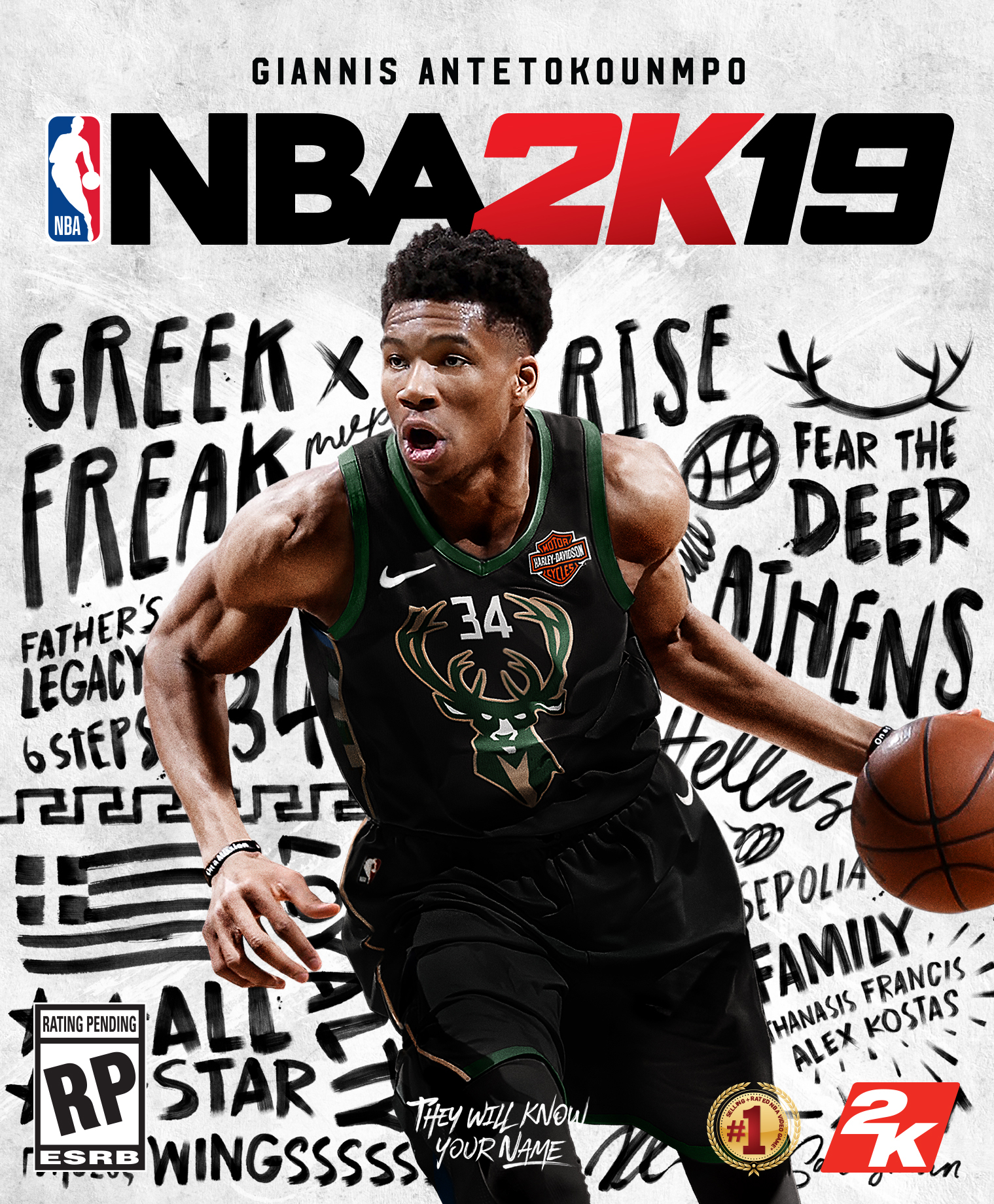 Nba 2k 20 Wallpaper: NBA 2K19 Features First International Cover Star, Giannis