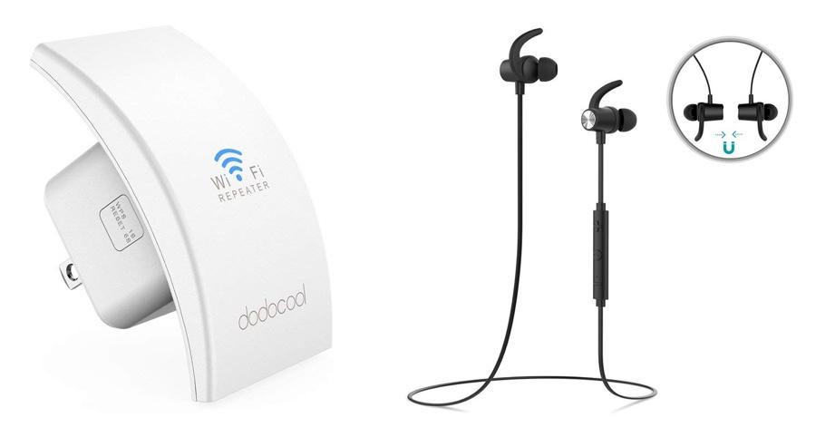 dodocool deals bluetooth headphones for n300. Black Bedroom Furniture Sets. Home Design Ideas