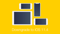 Downgrade iOS 11.4.1