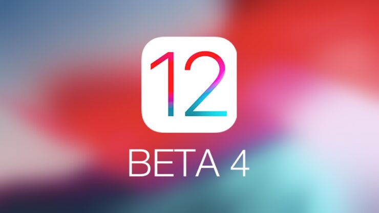 download iOS 12 beta 4