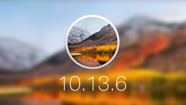 Download macOS 10.13.6