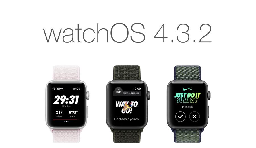 Download watchOS 4.3.2