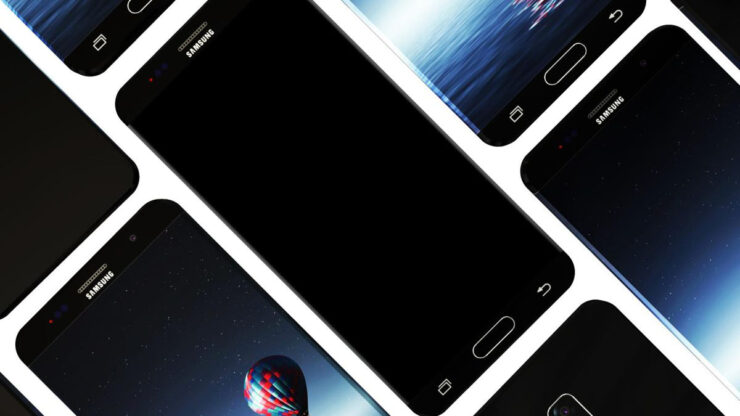 This Could Be How Future Samsung Smartphones Might Look Like - Completely Bezel-Less With Curved Glass From All 4 Sides