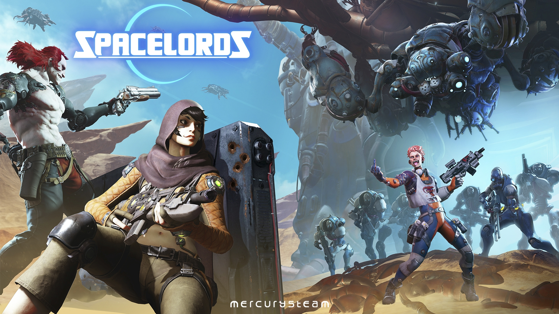 5fbfc318188 Introducing Spacelords - The Reborn Raiders of the Broken Planet