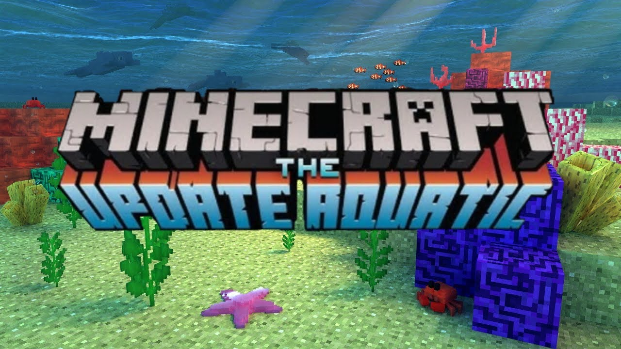 Minecraft Switch Patch 1 5 Update Aquatic Phase Two