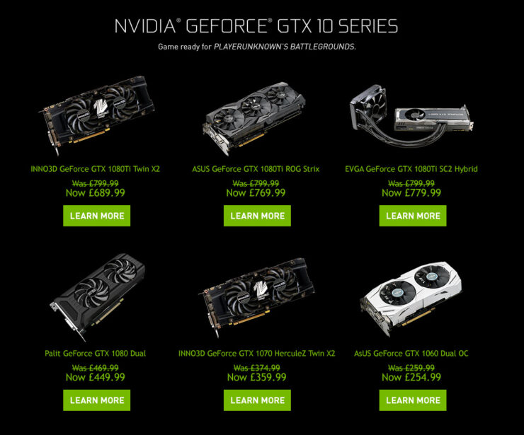 NVIDIA Clears Away GeForce 10 Inventory To Make Room For