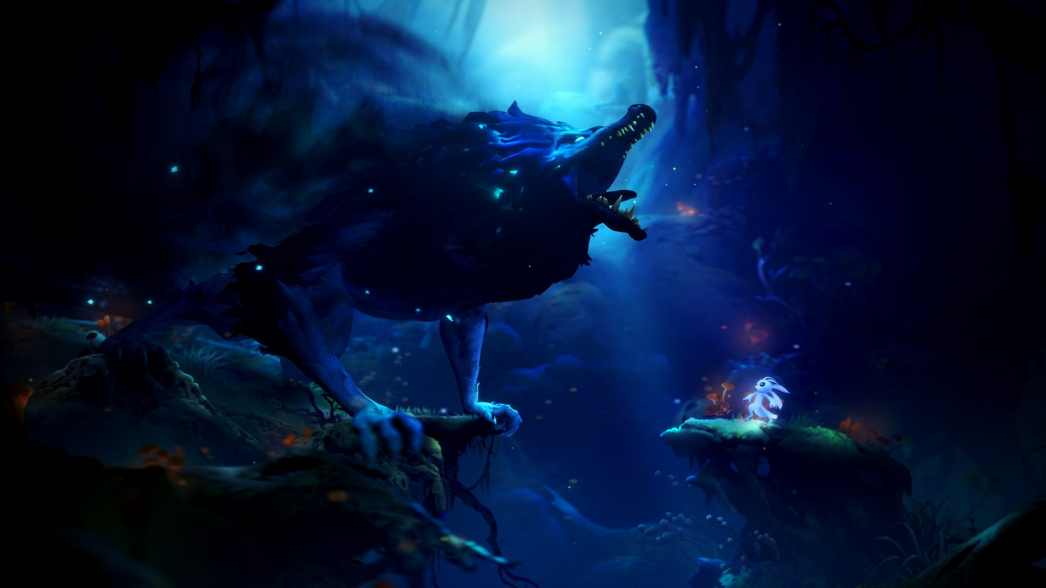 Ori and the Will of the Wisps Features Dynamic Lighting and
