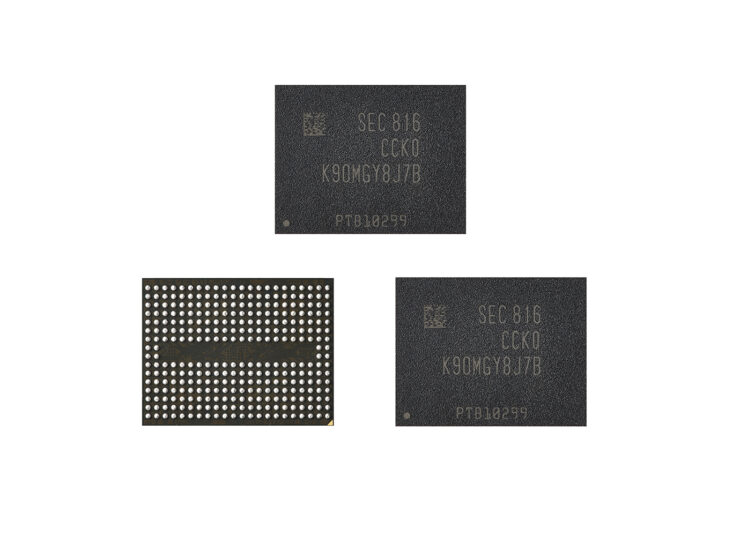 Samsung Is Mass Producing Its 5th-Gen 256Gb V-NAND Flash for Premium Smartphones
