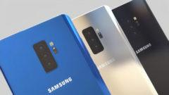 Samsung Galaxy A series triple camera lens