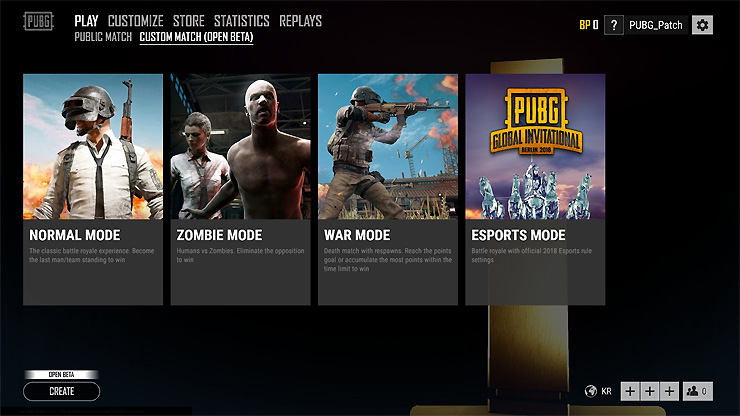 Pubg Test Server Patch Adds Custom Games Spectator Mode: PUBG PC Patch 18 Adds Custom Matches, A New Weapon And