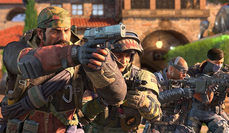 Call Of Duty Black Ops 4 Aiming For A Less Toxic Experience Blackout Gameplay Emerges