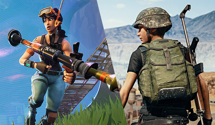 fortnite tops console charts  loses to pubg on pc in june