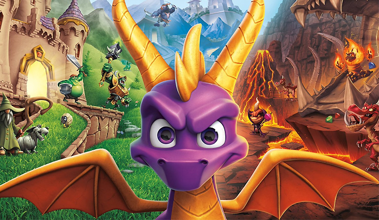 Spyro Trilogy on PS4/XO Requires Content Download