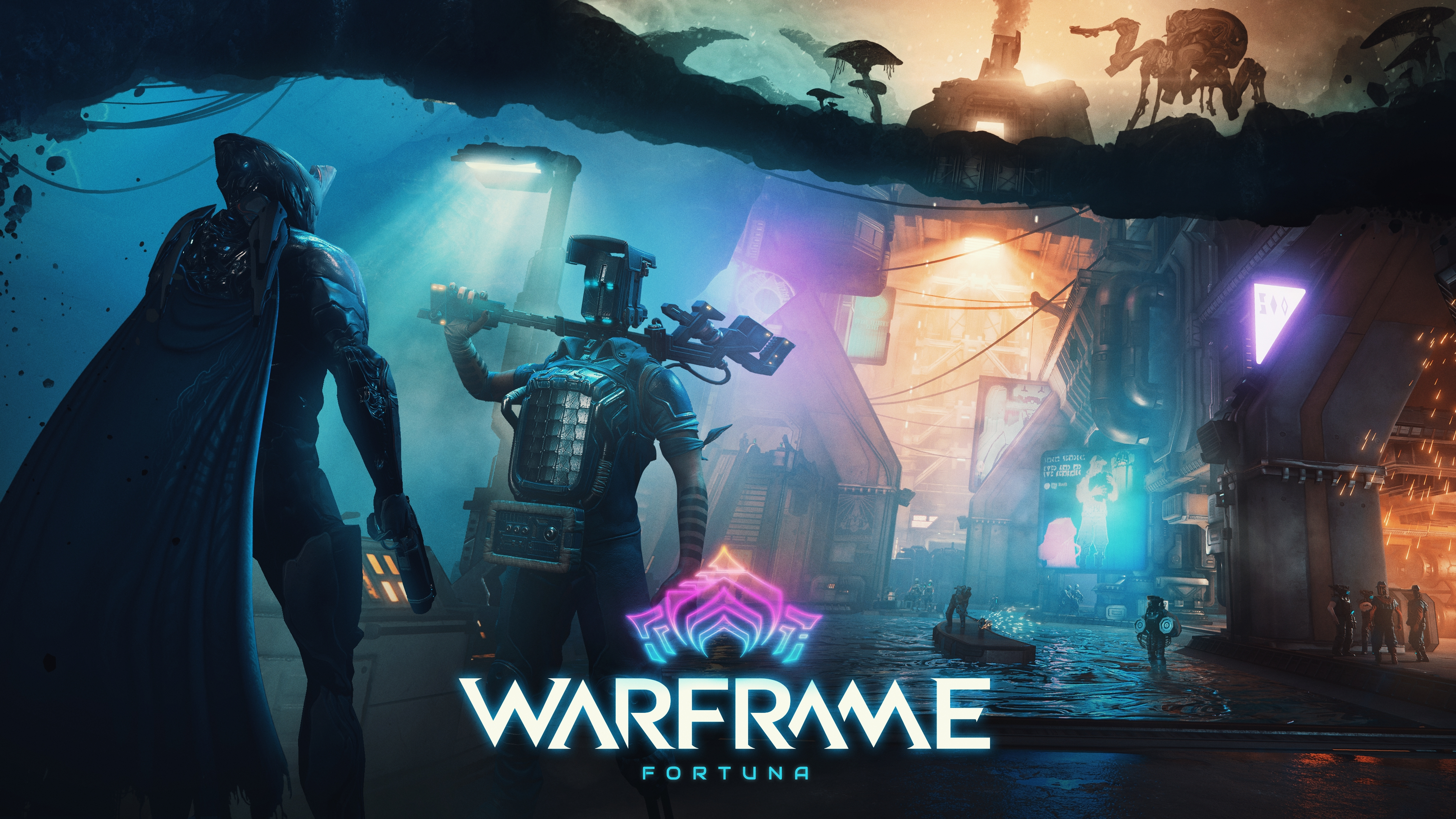 Fortuna' Warframe Expansion Launching in November for PC
