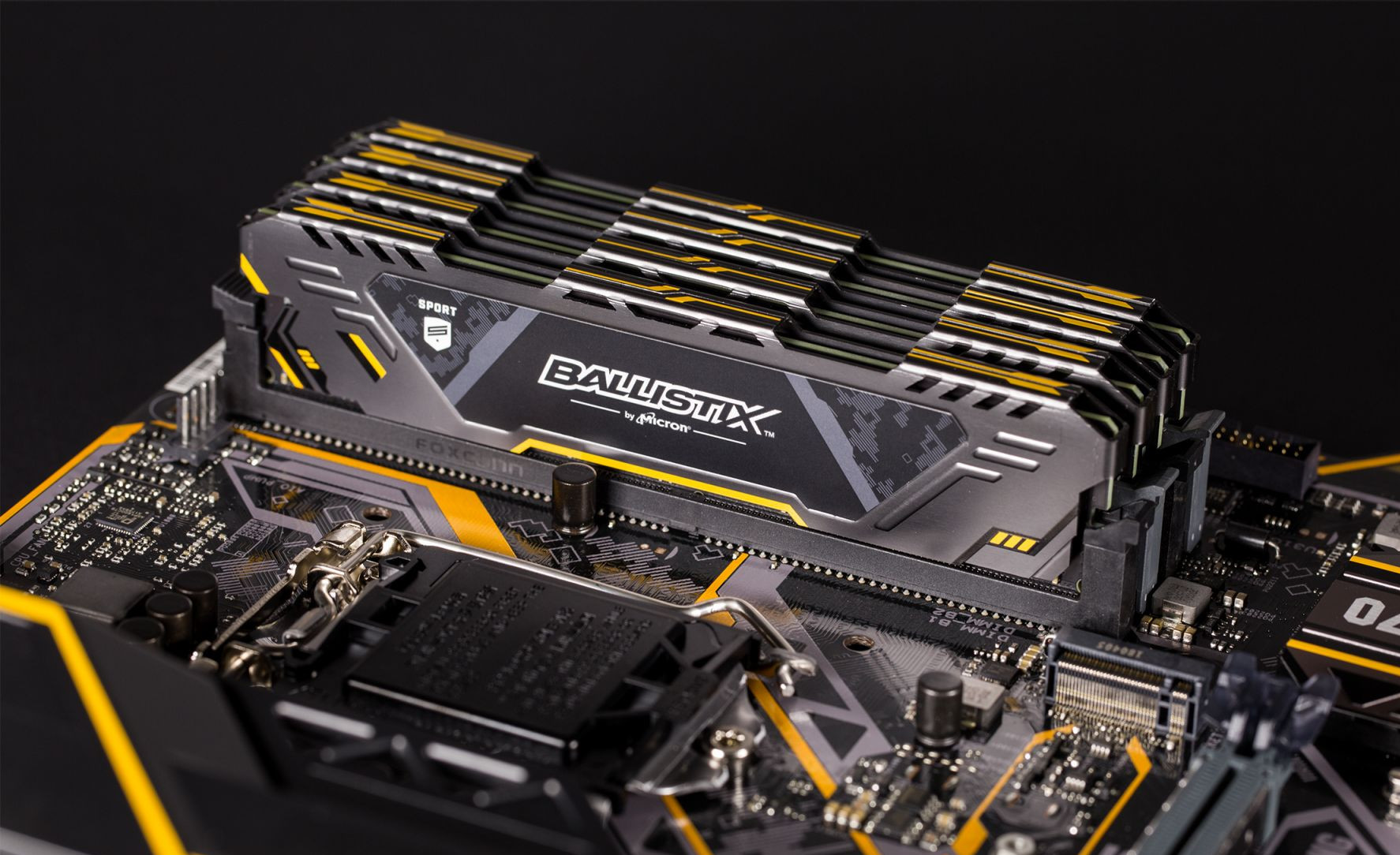 Crucial Memory Releases Ballistix Sport AT Gaming Memory 2667-3000MHz Speeds