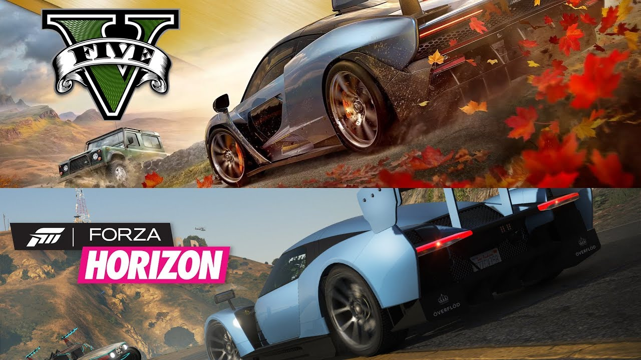 this forza horizon 4 e3 2018 trailer recreated inside gta v looks amazing. Black Bedroom Furniture Sets. Home Design Ideas