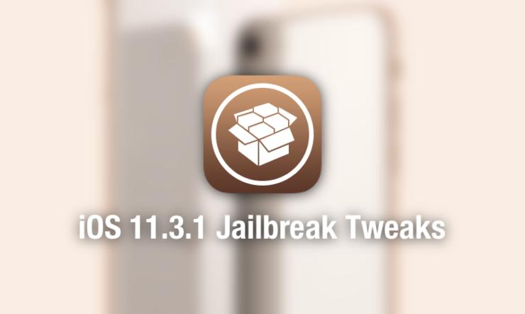 iOS 11.3.1 Compatible Jailbreak Tweaks