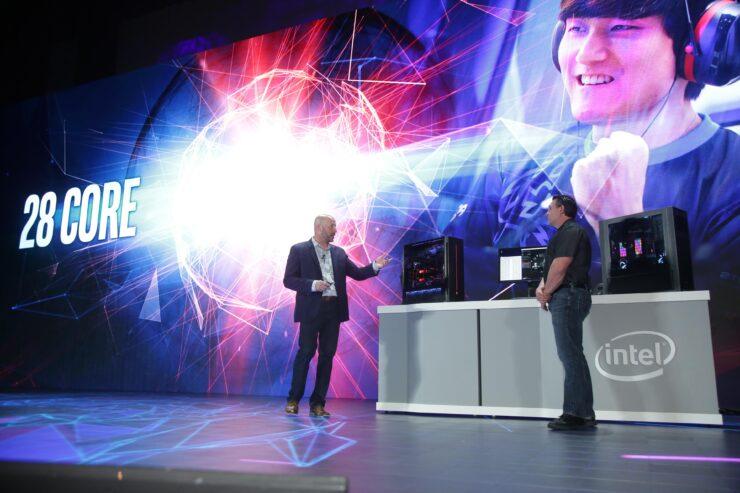 Intel 28 core processors