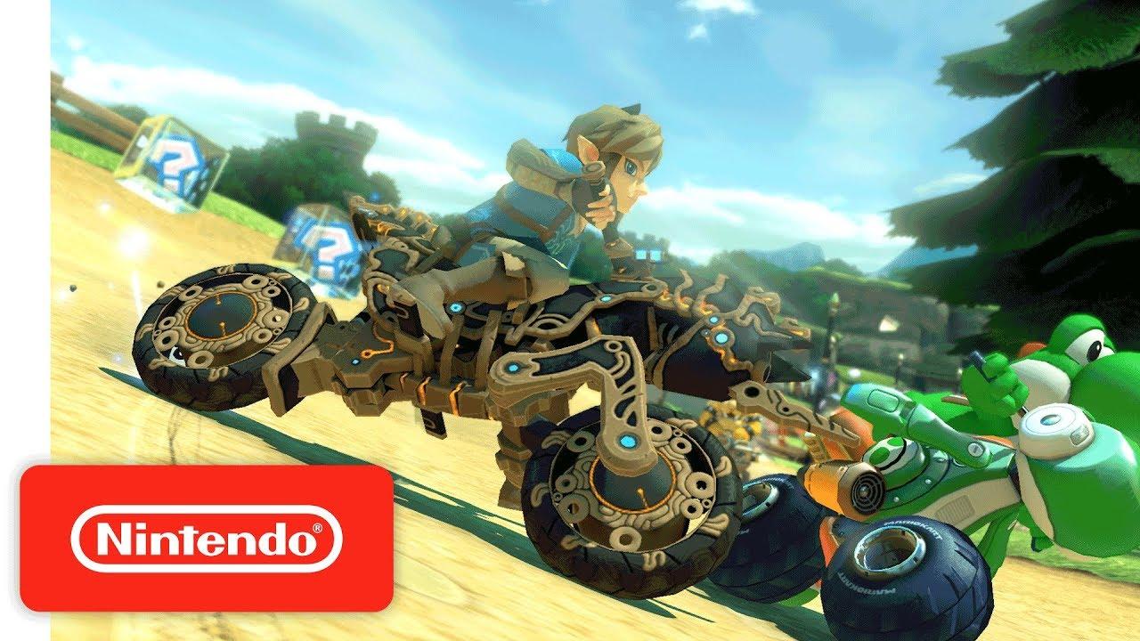 Switch Mario Kart 8 Deluxe Update 1 6 0 Adds Zelda BotW Kart and