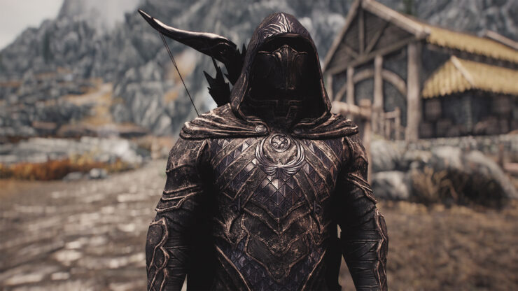 Skyrim Special Edition Nightingale mod 4k