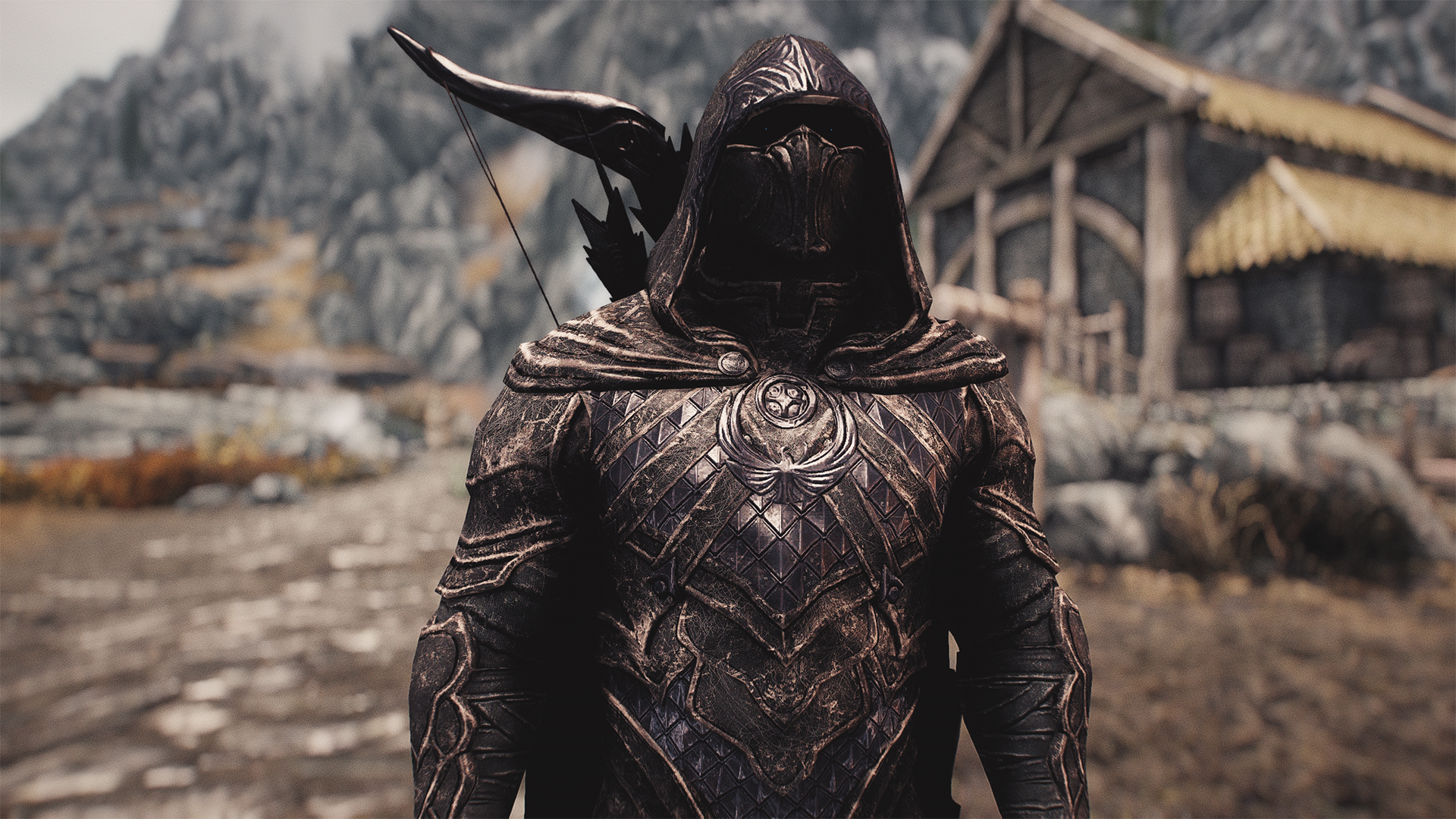 Skyrim Special Edition Nightingale 4k Hd Armor And Weapons Mod Makes