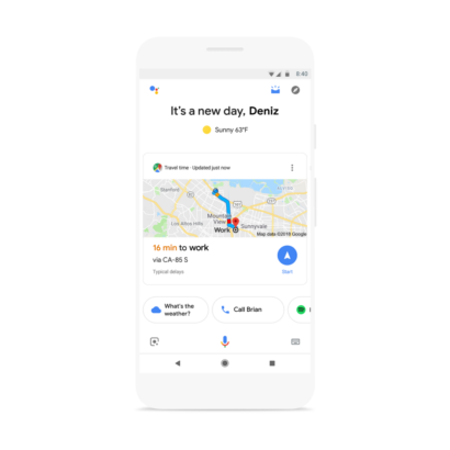 Google Assistant now gives you a personalized 'snapshot' of your day