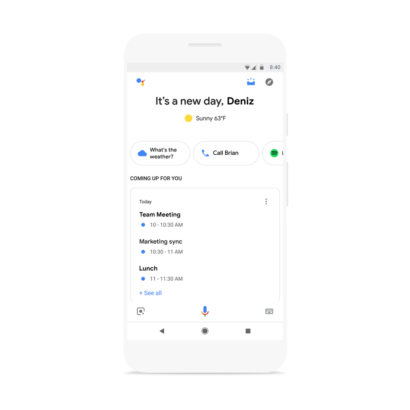 Google Assistant's new visual snapshot will give you a rundown of your entire day