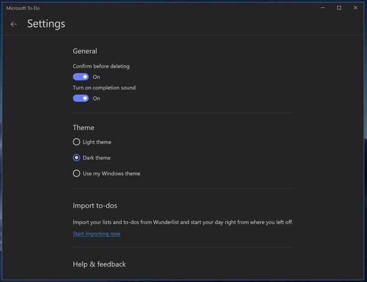 windows 10 dark theme