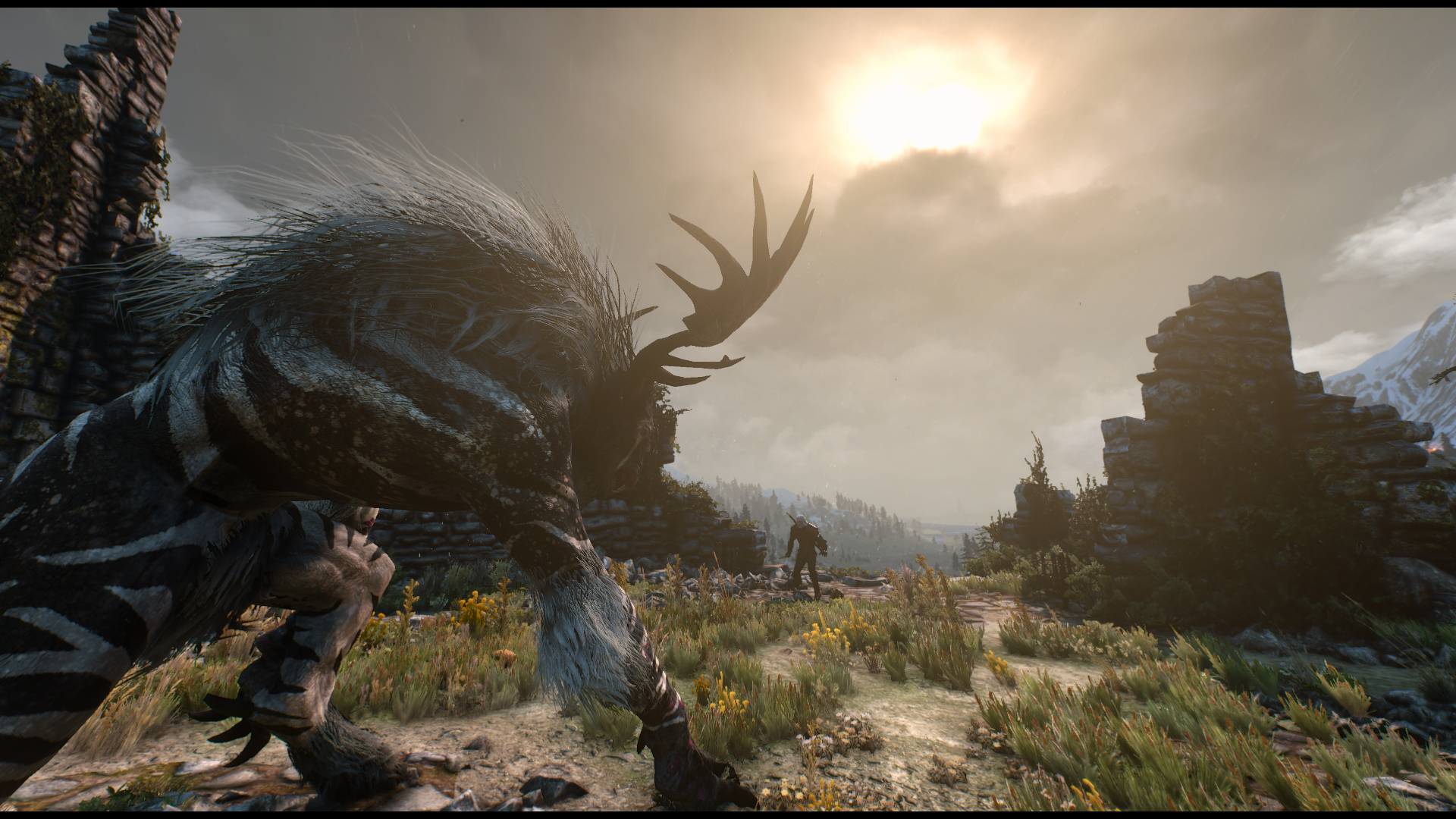 Beautiful The Witcher 3 Phoenix Lighting Mod Completely