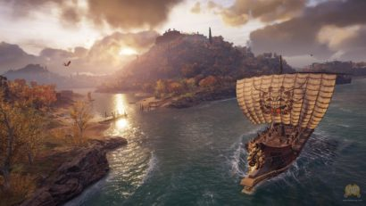 Assassin's Creed Odyssey Screens Show Off Fights