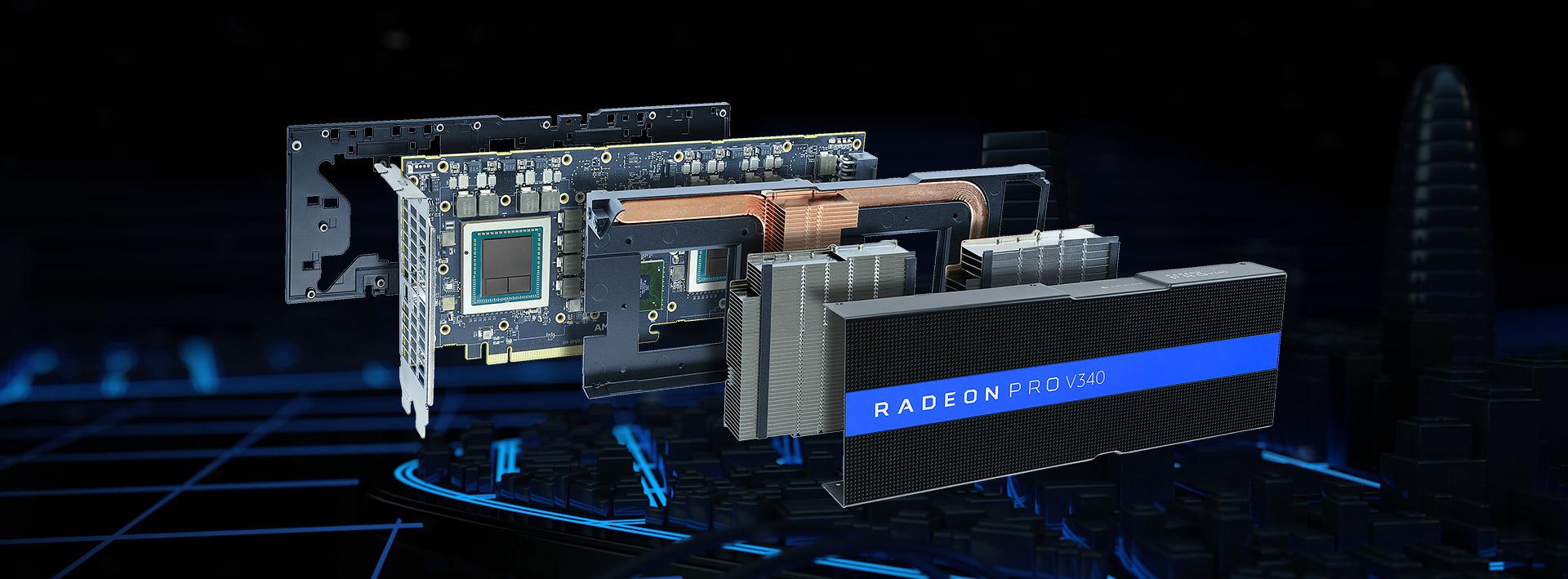 AMD Launches Radeon Pro V340 With Dual Vega 56 GPUs, 32 GB HBM2