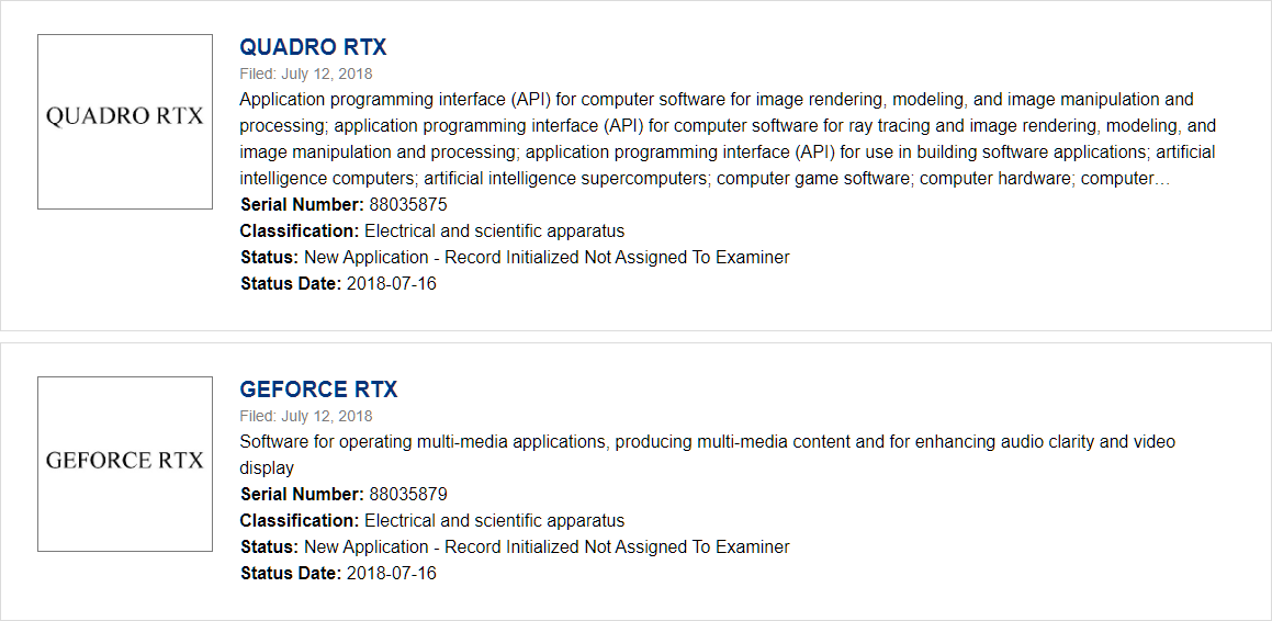 NVIDIA GeForce RTX 20 Series, Titan RTX and RTX 2080