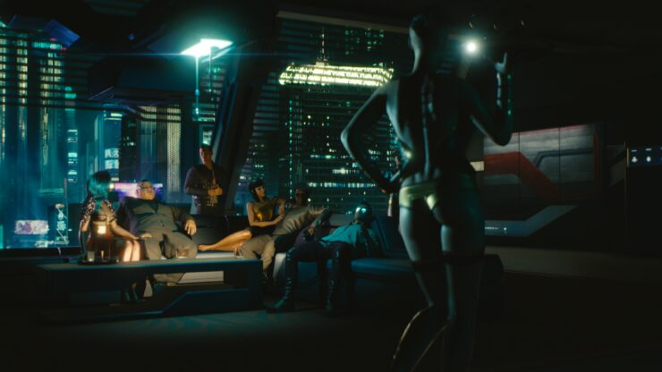 Cyberpunk 2077 gameplay reveal Gamescom Impressions 05 - Life of Luxury