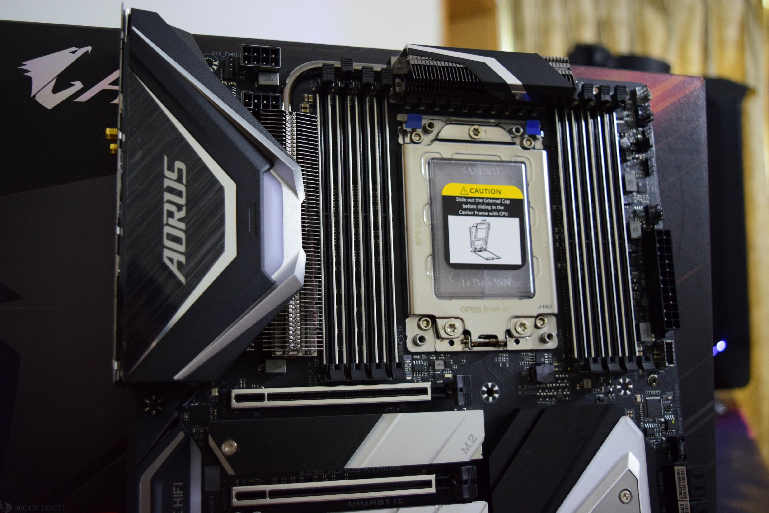 AORUS X399 Xtreme Flagship $449 99 US Motherboard Review