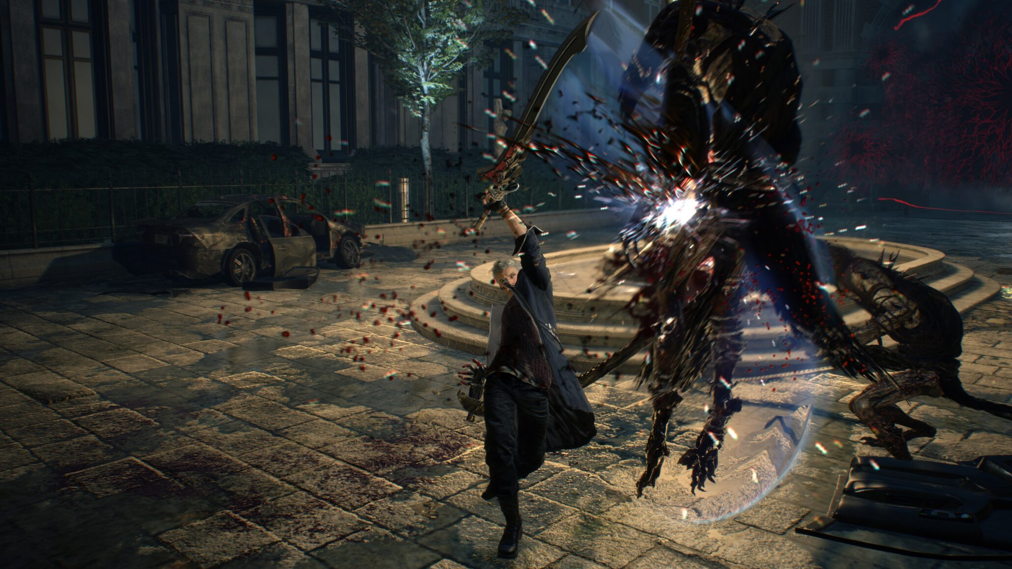 Devil May Cry 5 Data Mining Reveals Bloody Palace Co-Op, New