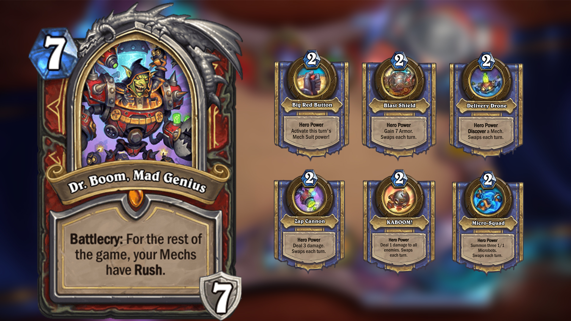 This Is Not Worst Case Scenario >> Hearthstone: The Boomsday Project - Our Most Anticipated Cards