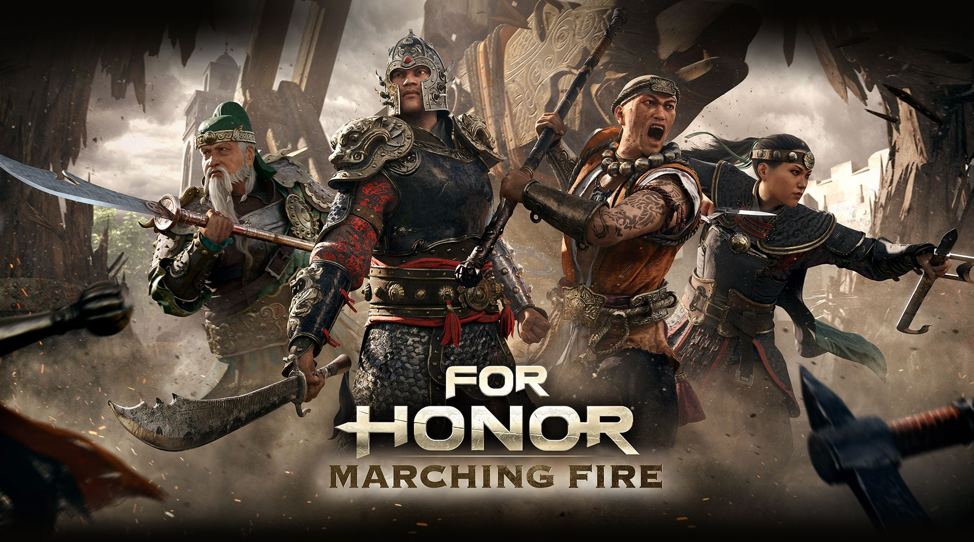 Jump Into For Honor: Marching Fire - Open Test on the 6th September