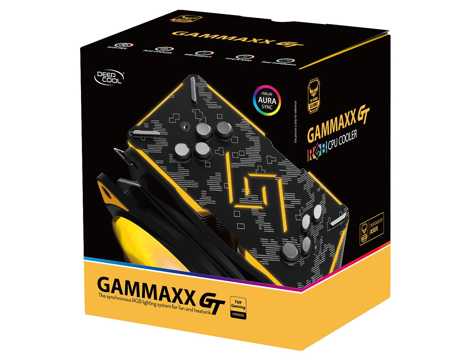 Deepcool Launches New RGB CPU Air Cooler, GAMMAXX GT TGA