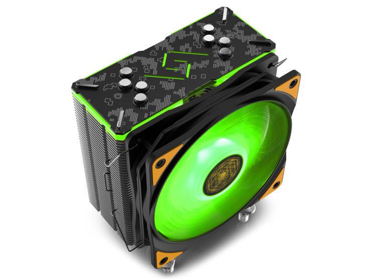 Deepcool Launches New RGB CPU Air Cooler, GAMMAXX GT TGA Asus TUF