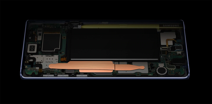 Galaxy Note 9 battery larger safer than ever