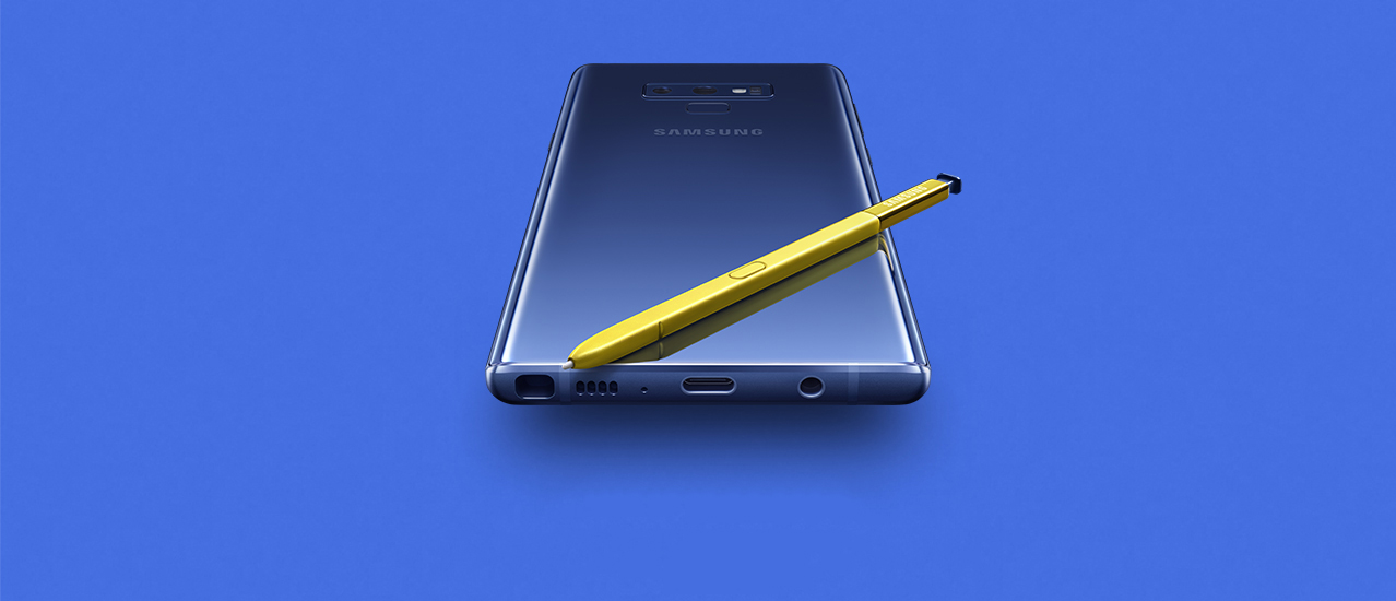 Galaxy Note 9 vs Galaxy Note 8 infograph
