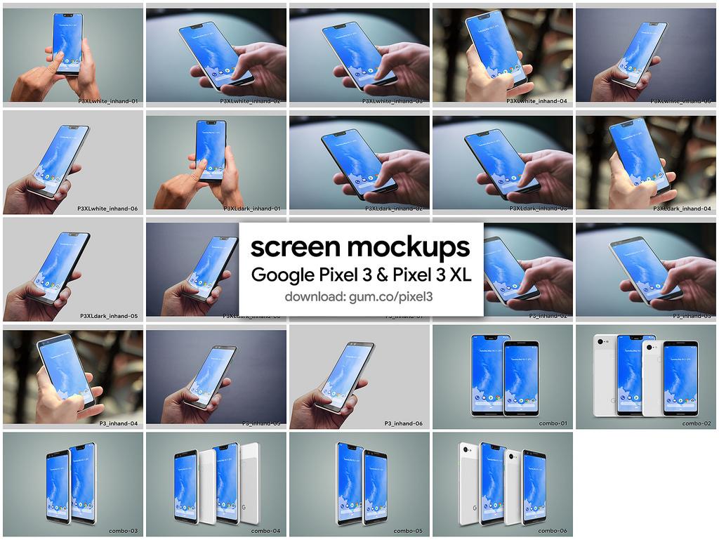 google-pixel-3-pixel-3-xl-high-resolution-mockups-5
