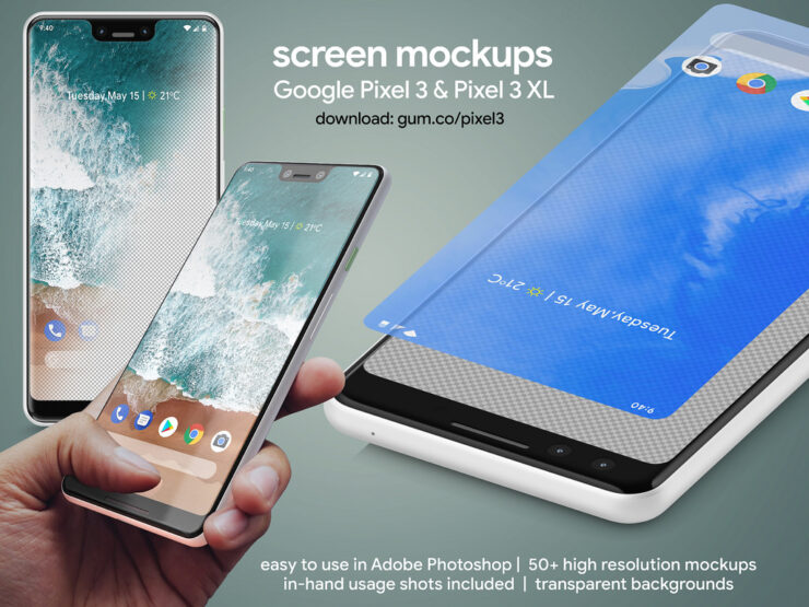 google-pixel-3-pixel-3-xl-high-resolution-mockups-7