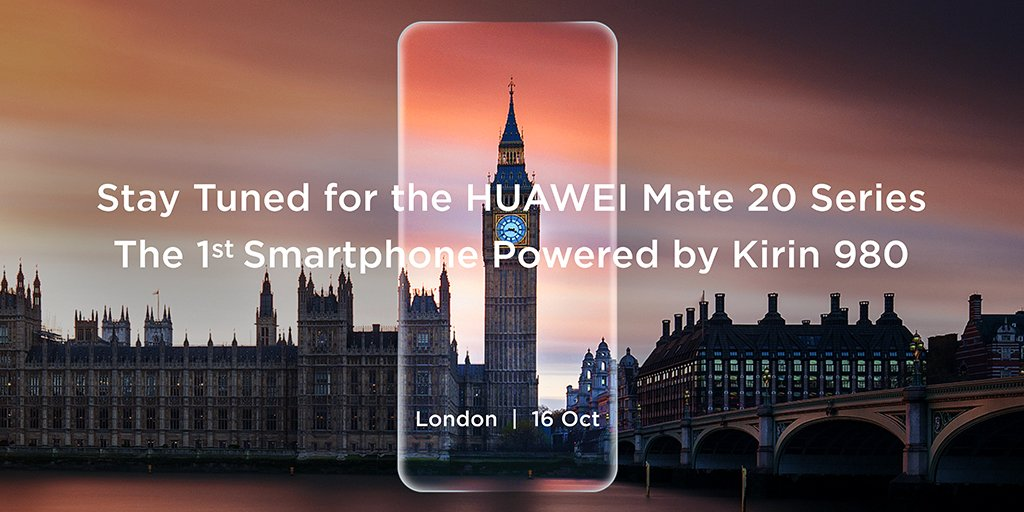 Huawei Mate 20 Pro October 16 announcement