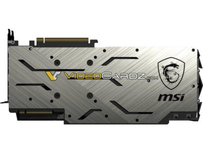 MSI spoils Nvidia's big reveal of the GTX 2080